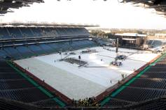 The Police Croke Park 2008 - ready for doors